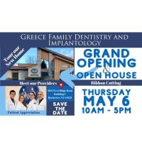 Greece Family Dentistry & Implantology Grand Opening of New Location & Ribbon Cutting