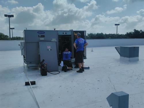 Commercial Rooftop repair
