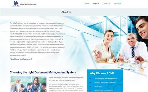 Application Development & Responsive Web Design