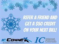 Current clients! Refer your friends and family and get a $50 credit on your bill!  Call for details: 641-0555
