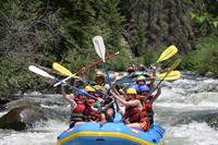 Rafting on the Taylor river!