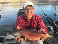 Blue Mesa red kokanee salmon!