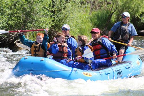 Rafting for all ages