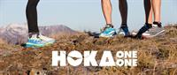Hoka brand shoes available; run comfortably.