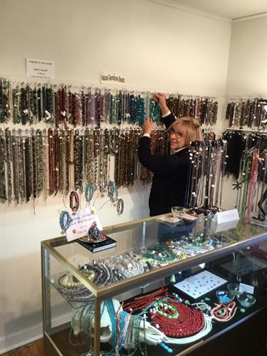 Whimsy House of Beads is Tahlequah's Bead Paradise and Design Studio.