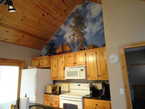 Cozy Turtle Kitchen/Great room, full kitchen