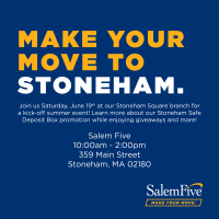Salem Five Summer Kick-Off