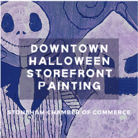 Calling Artists of All Ages! Paint a Halloween Storefront Window
