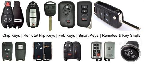 Car keys and remotes
