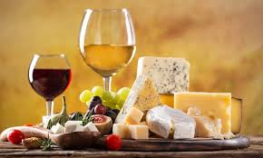 Wine and Cheese! The perfect pair!
