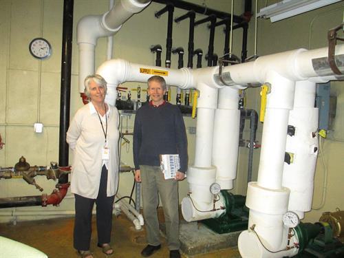 Albert Wisner Library Geothermal System