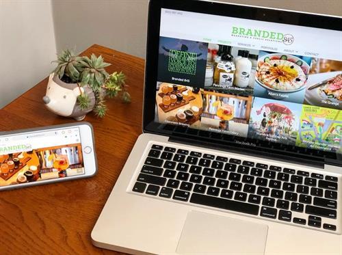 Branded845 Website