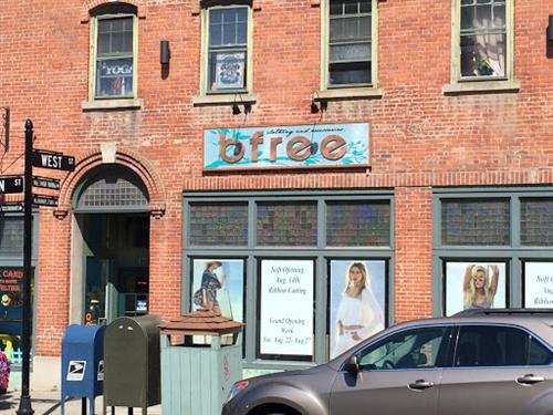 bfree Sign - Carved HDU - Warwick, NY