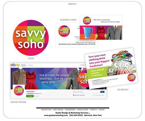 Logo, Identity & Social Media Design