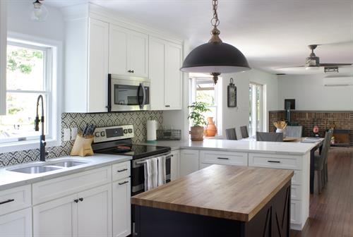 Kitchen renovation can solve storage issues.