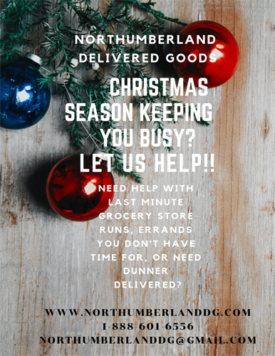 Christmas can get busy, let us help!