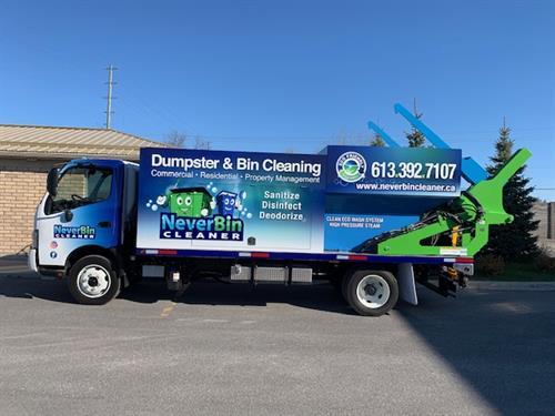 NeverBinCleaner Truck
