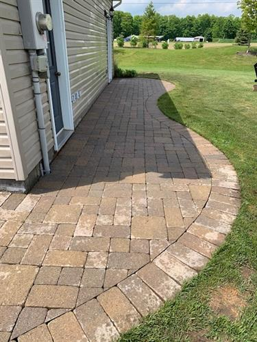 NeverBinCleaner makes your walkways look like new again