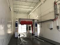Lauria's Bluelane Carwash.  Fully automatic!!