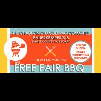 FREE Fair BBQ