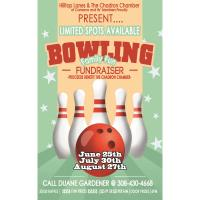 Bowling: Fundraiser for the Chadron Chamber