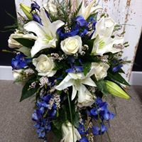 Bridal Bouquet Blue