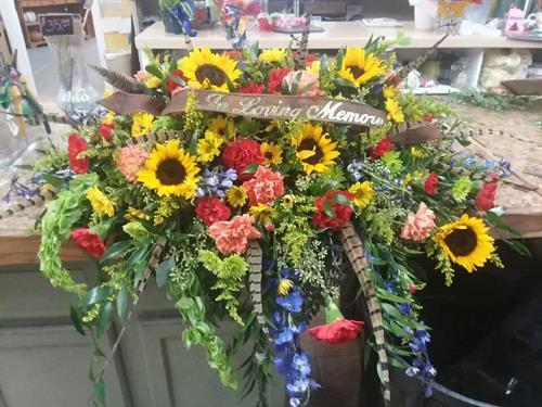 Funeral Casket Piece 1