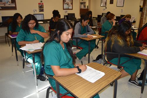 Medical Office Administration Classroom