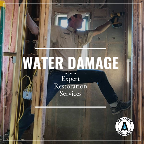 Specialists in water damage restoration services