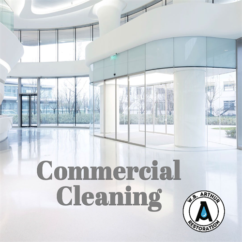 Commercial cleaning for offices, apartment communities, schools