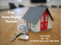 Home Buying Seminar presented by Sylvia Muzzy (Century 21) and Mindy Foster (Caliber Home Loans)