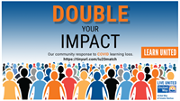 United Way of Greater Nashua - Double Your Impact  - News Release: 10/14/2020