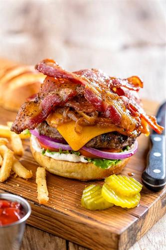 Bacon me Happy Burger