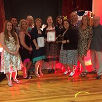 MACS staff being honored at MicroSociety Inc. National Conference in Hartford, CT