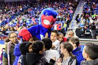 UMass Lowell WBasketball Annual Field Trip Day 1-27-17