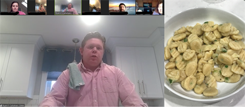 Cooking and Coversation - April 2020