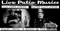 Live Patio Music w/ Matthew Francis Andersen & Ryan Joseph Anderson