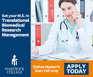 Wrote text for this online ad to attract applicants for new Master's degree program.