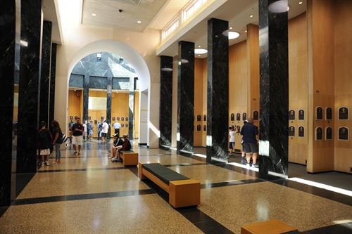 Hall of Fame Plaque Gallery