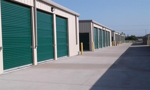 Large 12x40 Units with 14' doors