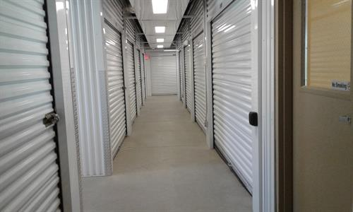 Climate Control and Interior Storage Options Available