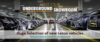 Longo Lexus Underground Showroom