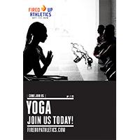 Yoga classes improve flexibility and melt away the stress.