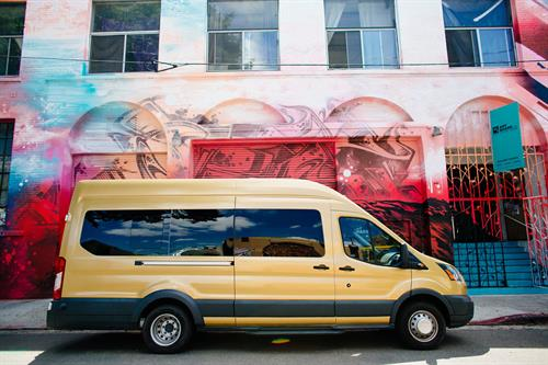 Here she is-- The Gold Van