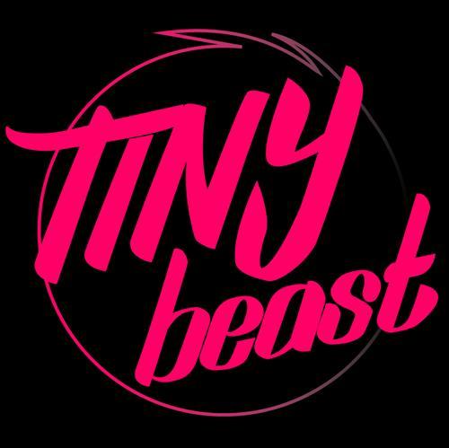 Tiny Beast Logo - Black