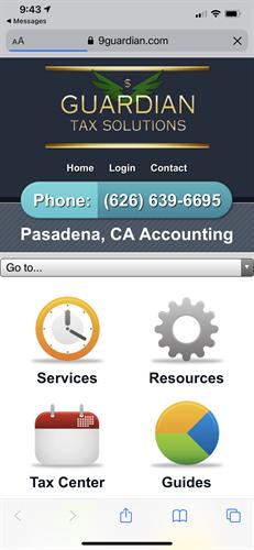 Guardian secure Tax Portal