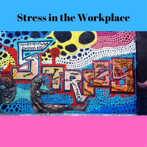 over 40% of people are experiencing sress at work right now