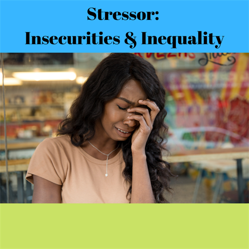 Women are 20% more likely to be stressed than men