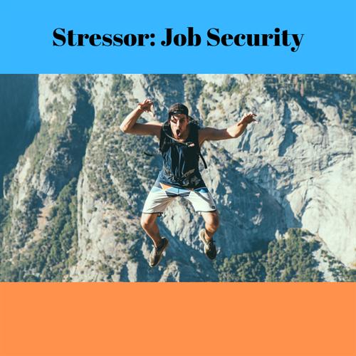 a Ker stressor is job security
