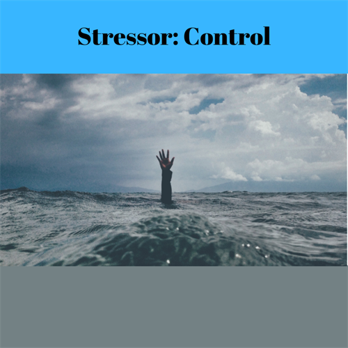 The lack of control over our work causes significant stress